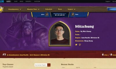 Whats On TV Blizzard suspends 'Hearthstone' esports athlete after his pro-Hong Kong plea on livestream