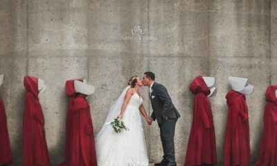 Whats On TV 'This is deeply disturbing': 'Handmaid's Tale' wedding photo goes viral