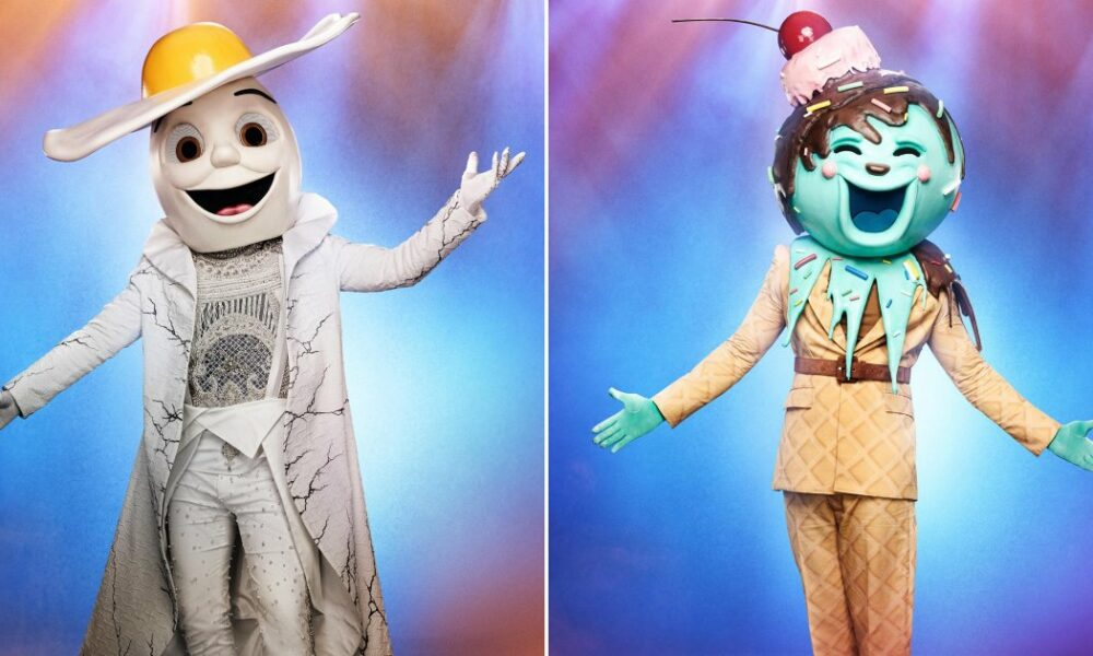 Entertainment Egg and Ice Cream revealed! The Masked Singer uncovers 2 disguised celebrity contestants – Entertainment Weekly News