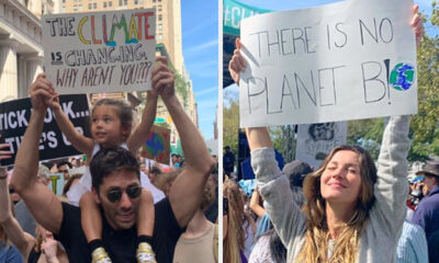 Celebrities Here's How Celebrities Are Taking Part In The Climate Strike